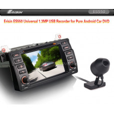 Erisin ES550 Universal 1.3MP USB Recorder for Pure Android Car DVD