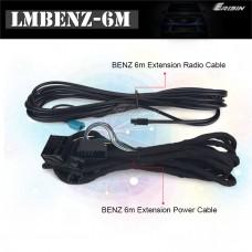 Erisin LMBENZ-6M удължаващ кабел за Mercedes с радиомодул в багажника