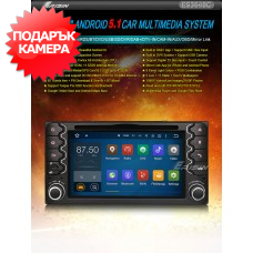 "Erisin ES3648C 6.2"" Android 5.1 за Toyota"