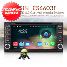 "Erisin ES6603F 6.95"" Android 6.0 за Toyota RAV4, Corolla и др."